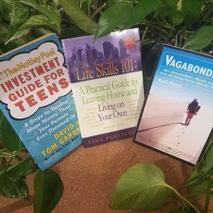 Travel, Money,  Life Skills for Young Adults Books
